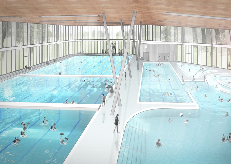 Artists impression of the new facility